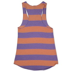 Alternative Stripe Racer Tank - Ladies'