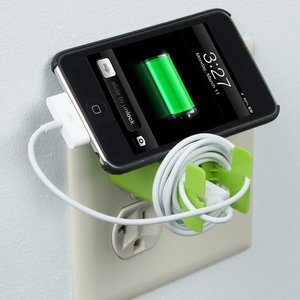 Dual Wall Charger Cable Organizer Image 3 of 4