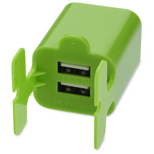 Dual Wall Charger Cable Organizer Image 4 of 4