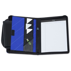 InLine Zippered Tech Portfolio Image 2 of 3