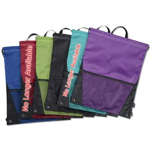 Dash Drawstring Sportpack - 24 hr Image 2 of 2
