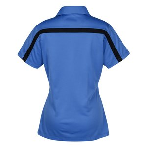 Silk Touch Sport Colorblock Polo - Ladies' Image 2 of 2