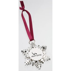 Holiday Charm Snowflake Ornament Image 2 of 2