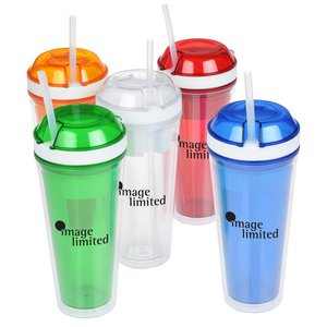 Snack and Go Tumbler - 16 oz. Image 5 of 5