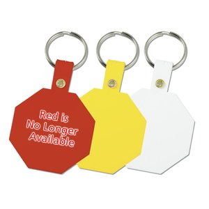 Octagon Key Tag - Closeout Image 1 of 1