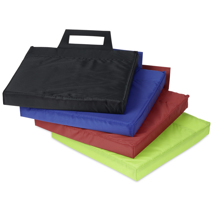 Tailgate Stadium Seat Cushion Image 1 of 2. Loading zoom. Tailgate Stadium Seat  Cushion ... - Tailgate Stadium Seat Cushion (Item No. 125596) From Only $3.49