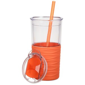 Ripple Tumbler with Straw - 20 oz.