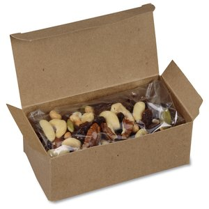 Natural Kraft Box - Deluxe Trail Mix