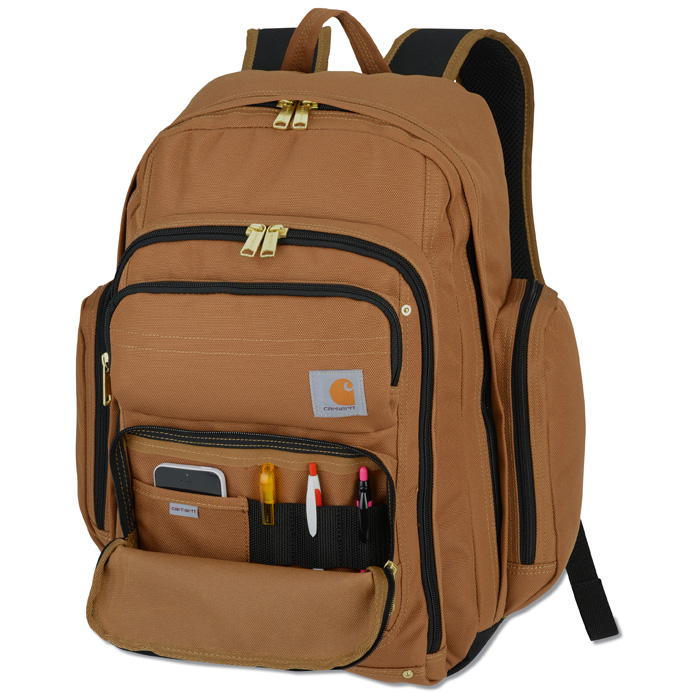 1332c01f9 4imprint.com: Carhartt Legacy Deluxe Work Laptop Backpack - Embroidered  125788-E