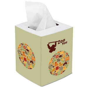 Cube Tissue Box Image 1 of 1
