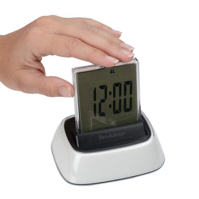 126003 is no longer available 4imprint promotional products rh 4imprint com Brookstone Alarm Clock Model 4511 brookstone radio controlled clock manual