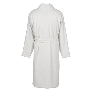 Checked Terry Shawl Collar Robe