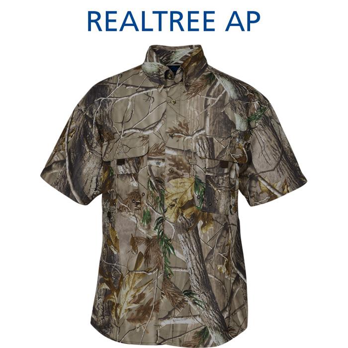 8257a036 4imprint.com: Reef Camo Double Pocket Shirt - Men's 126184-CAMO