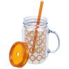 View Extra Image 1 of 2 of Mason Mug with Straw - 18 oz. - Link