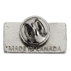 View Extra Image 1 of 1 of Classic Die Cast Lapel Pin - Rectangle