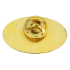 View Extra Image 2 of 2 of Classic Die Cast Lapel Pin - Oval - Gift Box