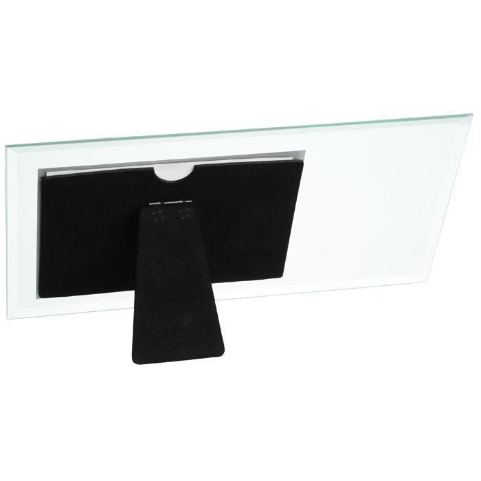 4imprint.com: Horizontal Beveled Glass Frame - 4\