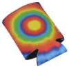 View Extra Image 1 of 2 of Koozie® Chill Collapsible Can Kooler - Tie-Dye Bullseye