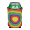 View Extra Image 2 of 2 of Koozie® Chill Collapsible Can Kooler - Tie-Dye Bullseye