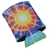View Image 2 of 3 of Koozie® Chill Collapsible Can Kooler - Tie-Dye Sun