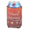 View Image 2 of 4 of Koozie® Holiday Can Kooler - Happy Holidays