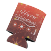 View Image 4 of 4 of Koozie® Holiday Can Kooler - Happy Holidays
