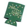 View Image 3 of 4 of Koozie® Holiday Can Kooler - Merry & Bright