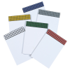 """View Extra Image 1 of 1 of Bic Non-Adhesive Notepad – 6"""" x 4"""" – 25 Sheet - Buffalo Plaid - 24 hr"""