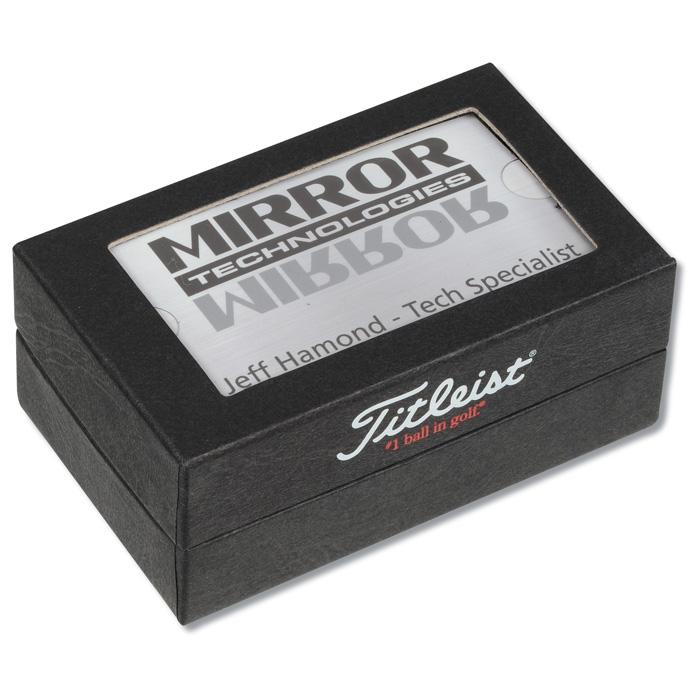 4imprint.com: Titleist 2 Ball Business Card Box – DT TruSoft 129437-DT