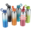 View Extra Image 3 of 4 of Ombre Aluminum Sport Bottle - 21 oz.