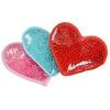 View Image 3 of 3 of Plush Heart Hot/Cold Pack