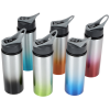 View Extra Image 2 of 2 of Gradient Color Aluminum Sport Bottle with Straw Lid - 24 oz. - 24 hr