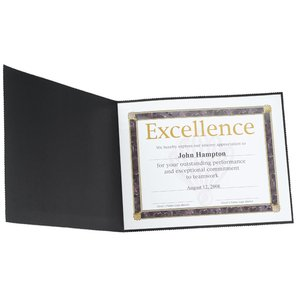 Pinked Edge Certificate Holder - Horizontal Image 1 of 1
