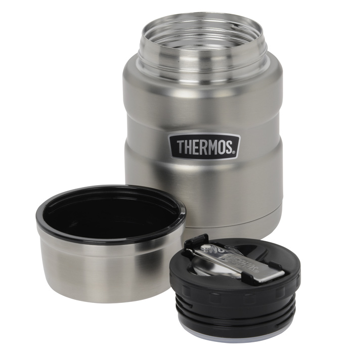 thermos king food jar with spoon 16 oz 130562. Black Bedroom Furniture Sets. Home Design Ideas