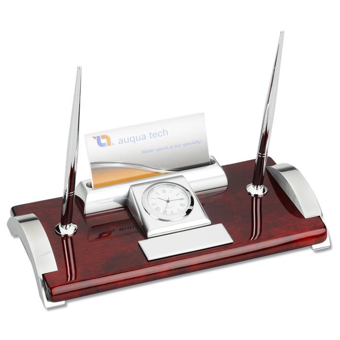 office awards desk accessories mahogany desk set sorry this item no longer exists