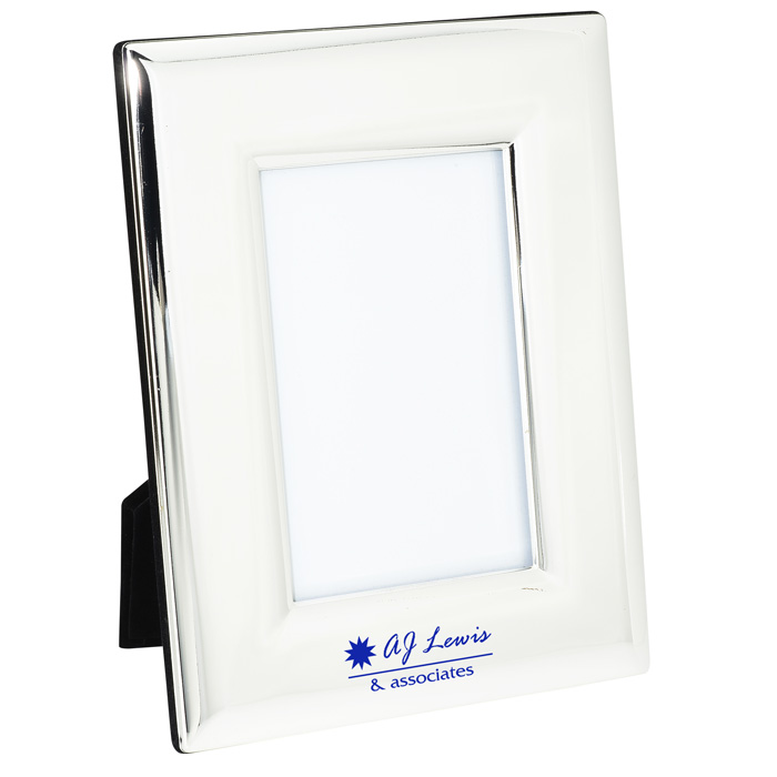 009e1c4bf5f5 4imprint.com  Silver Plated Photo Frame - 6