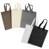 View Extra Image 1 of 1 of Kraft Eurotote with Cotton Ribbon Handle - 10 inches x 8 inches