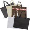 View Extra Image 1 of 1 of Kraft Eurotote with Cotton Ribbon Handle - 10 inches x 13 inches