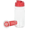 View Extra Image 2 of 3 of Clear Impact Infuser Bottle with Flip Lid - 20 oz.