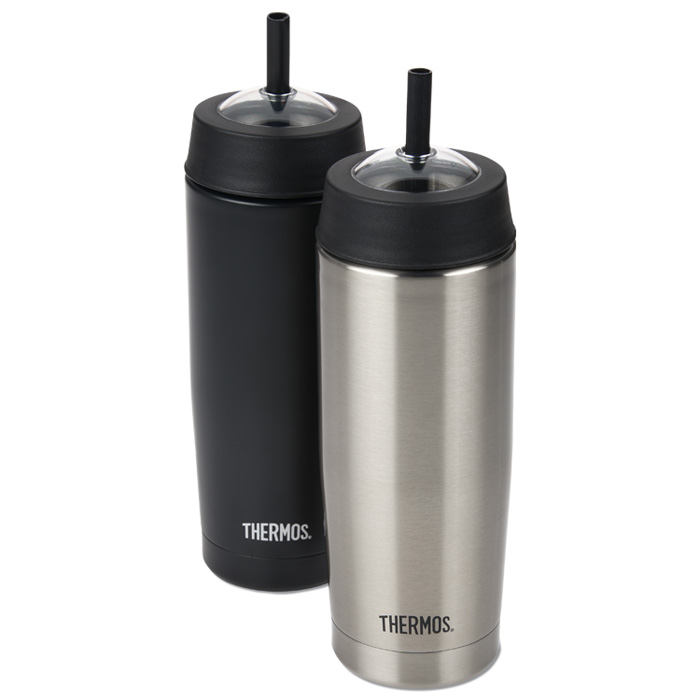 Thermos Cold Cup with Straw - 16 oz  - Laser Engraved