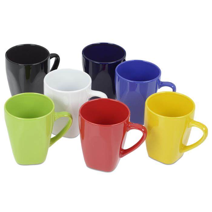 Square To Round Ceramic Mug 14 Oz 131838