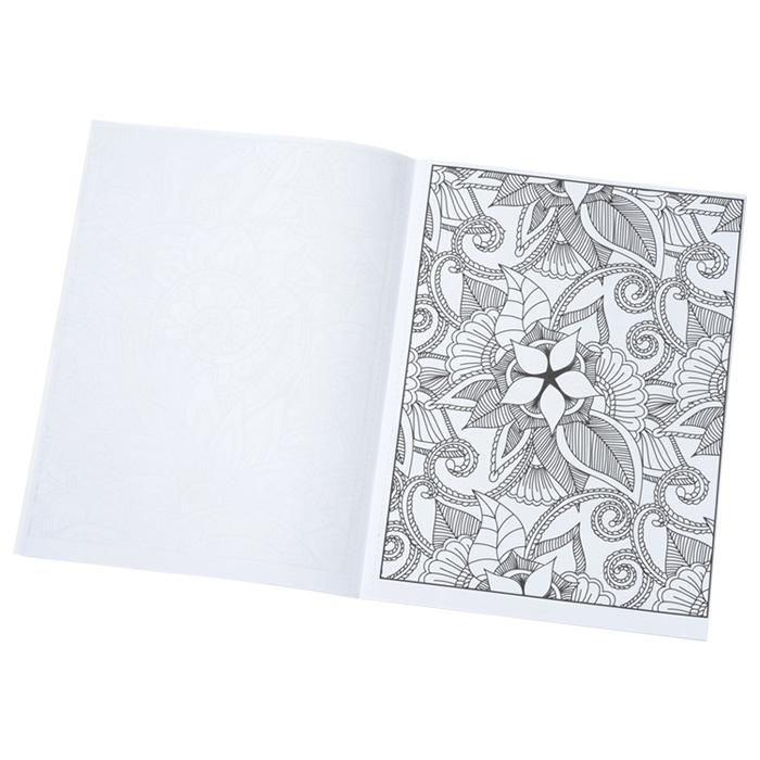 4imprint.com: Stress Relieving Adult Coloring Book - Zen Doodle 132537-ZD