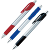 View Extra Image 1 of 1 of Bic Honor Grip Pen - Silver