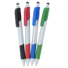 View Extra Image 1 of 4 of Bic Honor Stylus Grip Pen - Silver