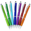 View Extra Image 3 of 4 of Tev Stylus Twist Pen - Metallic