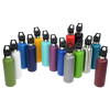 View Extra Image 1 of 2 of Basecamp Tundra Vacuum Bottle with Flip Straw Lid - 20 oz. - Laser Engraved