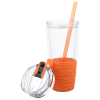 View Extra Image 2 of 3 of Quench Tumbler with Straw - 18 oz. - 24 hr