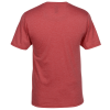 View Extra Image 1 of 2 of Optimal Tri-Blend V-Neck T-Shirt - Men's - Colors - Embroidered