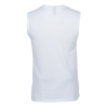 View Extra Image 2 of 2 of Ultimate Sleeveless Tank - Men's - White - Screen