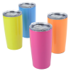 View Extra Image 2 of 2 of Yowie Vacuum Travel Tumbler - 18 oz. - Neon - Laser Engraved